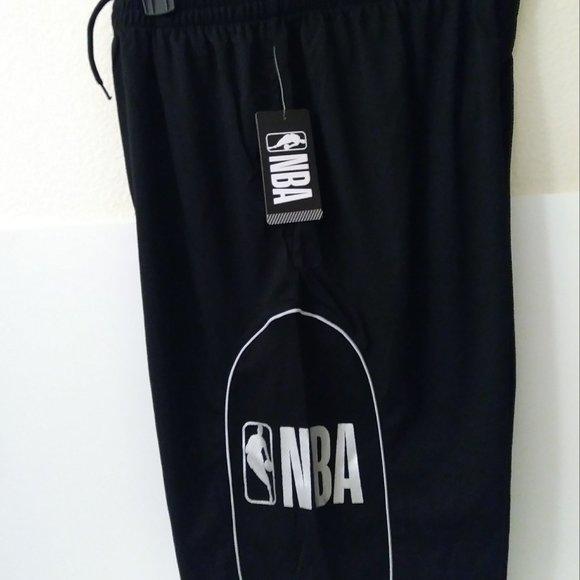 NBA Black /Silver Large Men Short